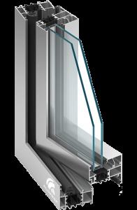 Okna aluminiowe Aluprof MB 70 Leszno