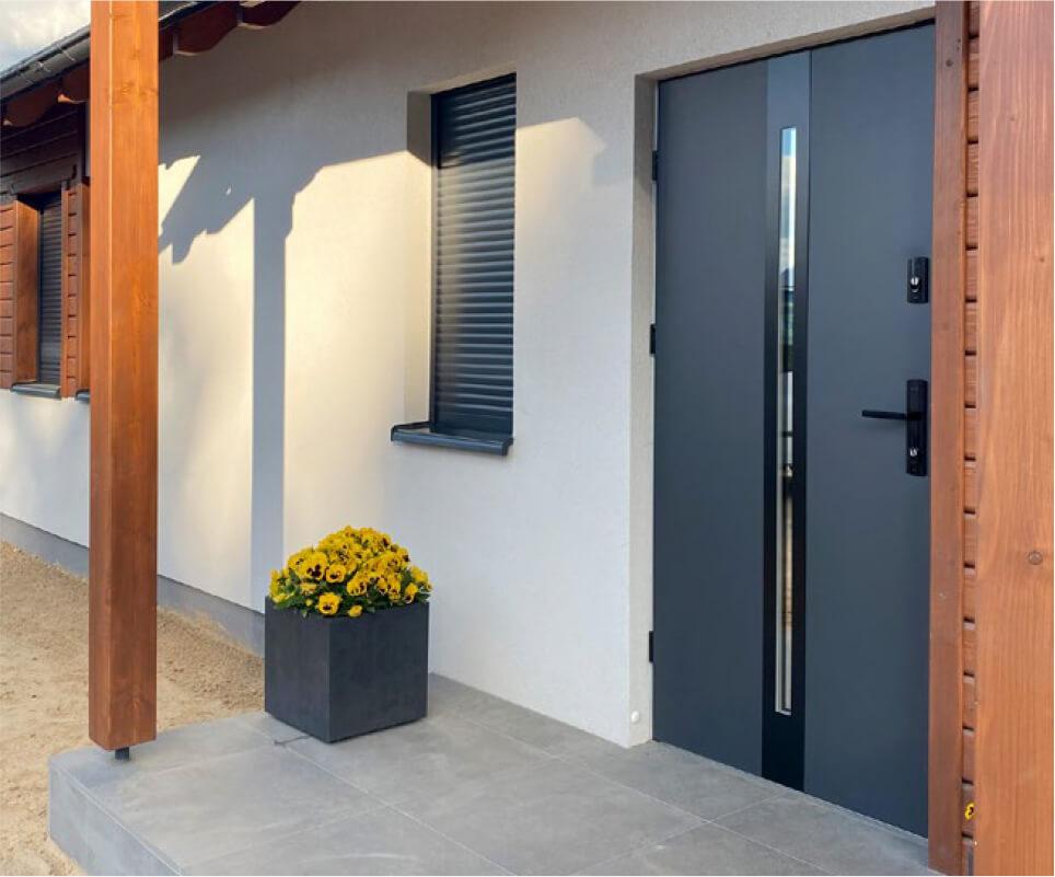Drzwi zewnętrzne Leszno